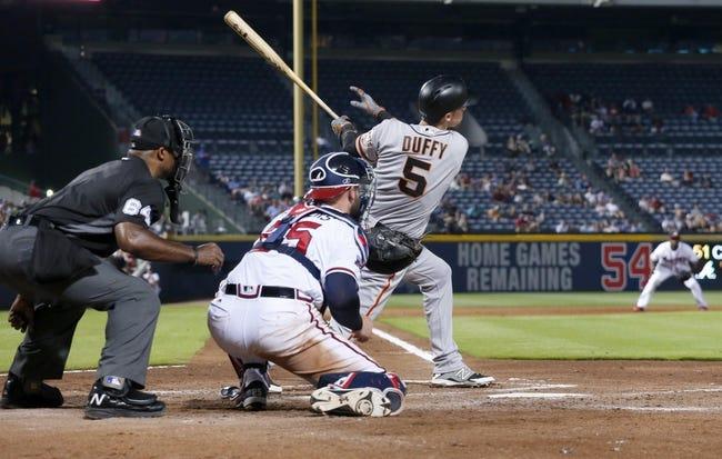 Atlanta Braves vs. San Francisco Giants - 6/2/16 MLB Pick, Odds, and Prediction
