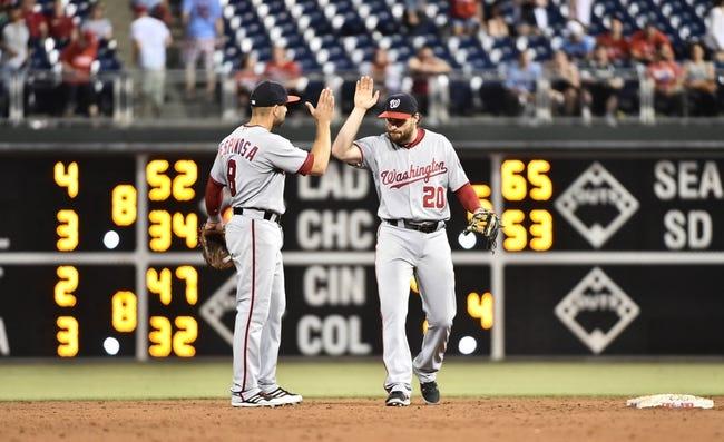 Washington Nationals vs. Philadelphia Phillies - 6/10/16 MLB Pick, Odds, and Prediction