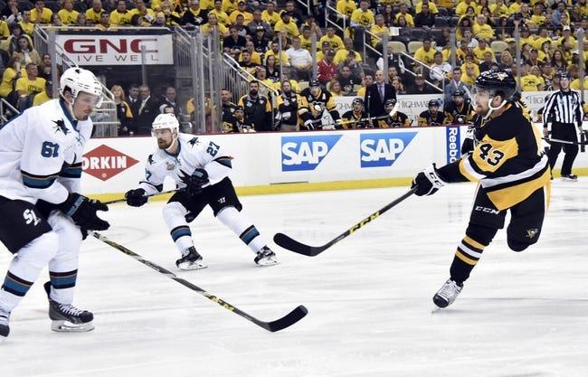 Penguins at Sharks Game 3 - 6/4/16 NHL Pick, Odds, and Prediction