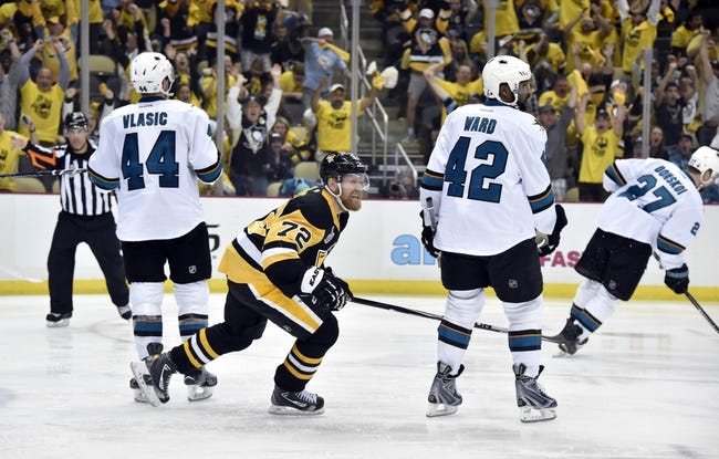 San Jose Sharks vs. Pittsburgh Penguins Game Three - 6/4/16 NHL Pick, Odds, and Prediction