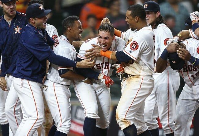 Arizona Diamondbacks vs. Houston Astros - 8/14/17 MLB Pick, Odds, and Prediction