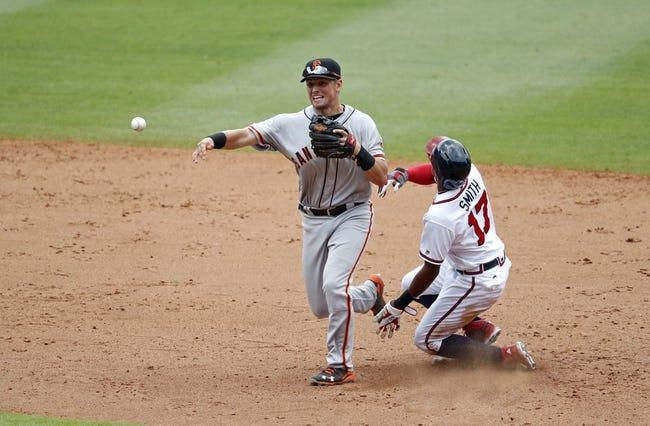 Giants vs. Braves - 8/28/16 MLB Pick, Odds, and Prediction