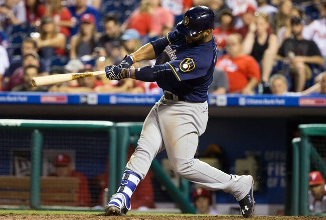 Philadelphia Phillies vs. Milwaukee Brewers - 6/5/16 MLB Pick, Odds, and Prediction