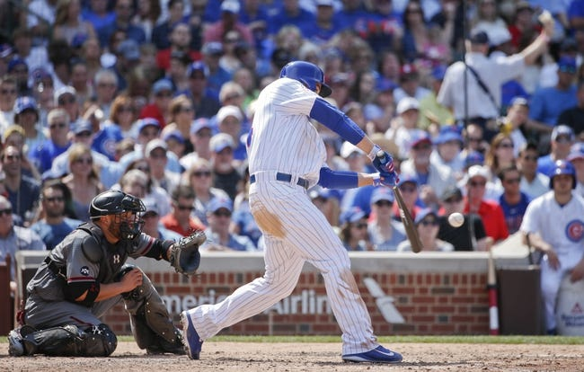 Chicago Cubs vs. Arizona Diamondbacks - 6/4/16 MLB Pick, Odds, and Prediction