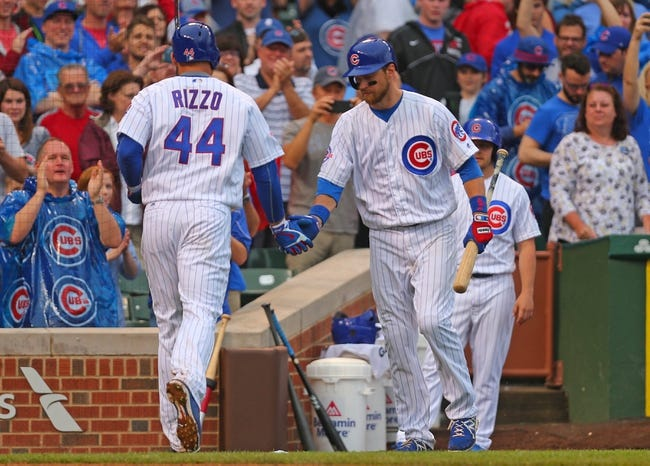 Chicago Cubs vs. Arizona Diamondbacks - 6/5/16 MLB Pick, Odds, and Prediction