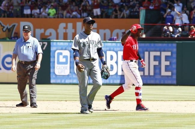 Mariners vs. Rangers - 6/10/16 MLB Pick, Odds, and Prediction