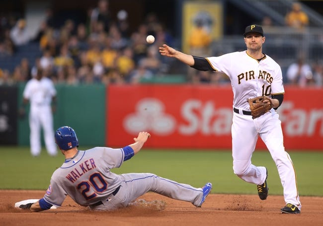 Pirates at Mets - 6/14/16 MLB Pick, Odds, and Prediction