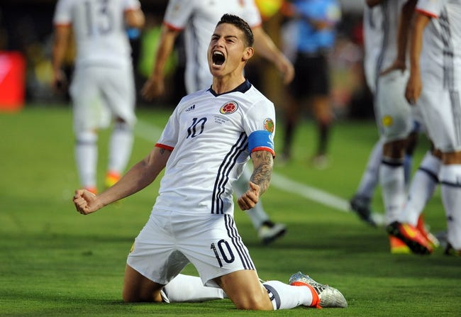 Peru vs. Colombia Copa America Quarterfinals Pick, Odds, Prediction - 6/17/16