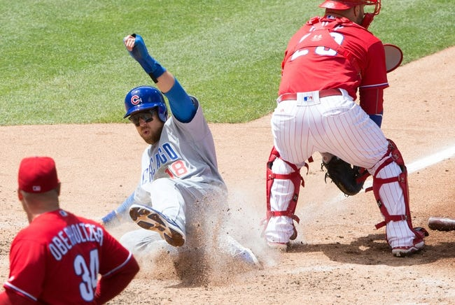 Contreras, Szczur lead Cubs comeback over Phillies, 5-4