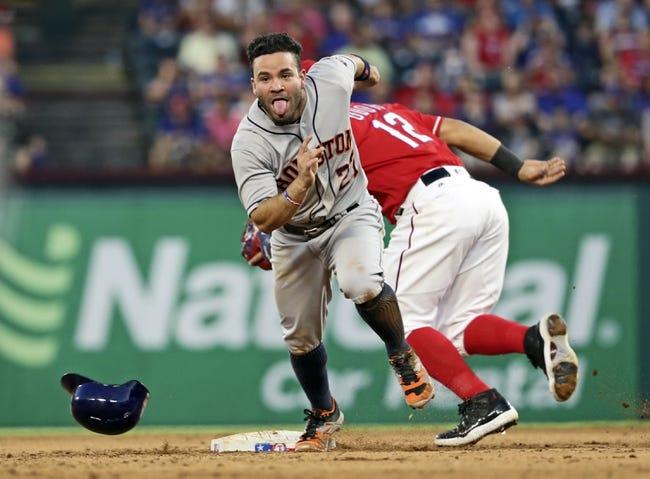 Texas Rangers vs. Houston Astros - 6/9/16 MLB Pick, Odds, and Prediction