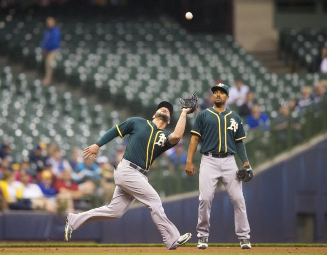 Oakland Athletics vs. Milwaukee Brewers - 6/21/16 MLB Pick, Odds, and Prediction