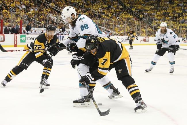 Penguins at Sharks Game 6 - 6/12/16 NHL Pick, Odds, and Prediction