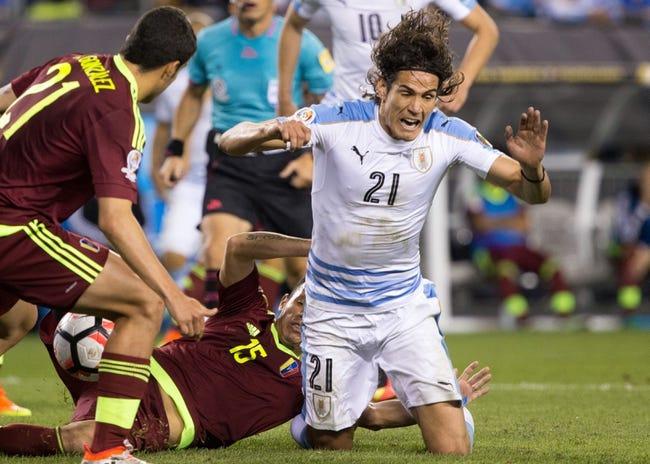Uruguay vs. Uzbekistan - 6/7/18 International Friendly Soccer Pick, Odds, and Prediction