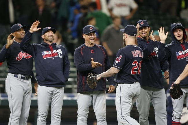 Brantley, Lindor spark 8-run 3rd as Indians rout Mariners
