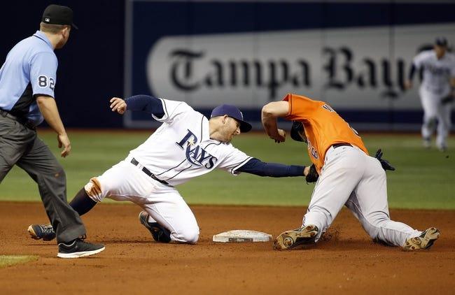 Tampa Bay Rays vs. Houston Astros - 6/11/16 MLB Pick, Odds, and Prediction