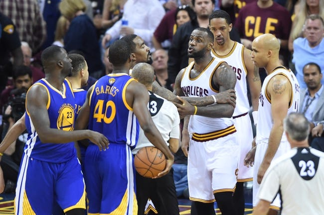 Cavaliers at Warriors Game 5 - 6/13/16 NBA Pick, Odds, and Prediction
