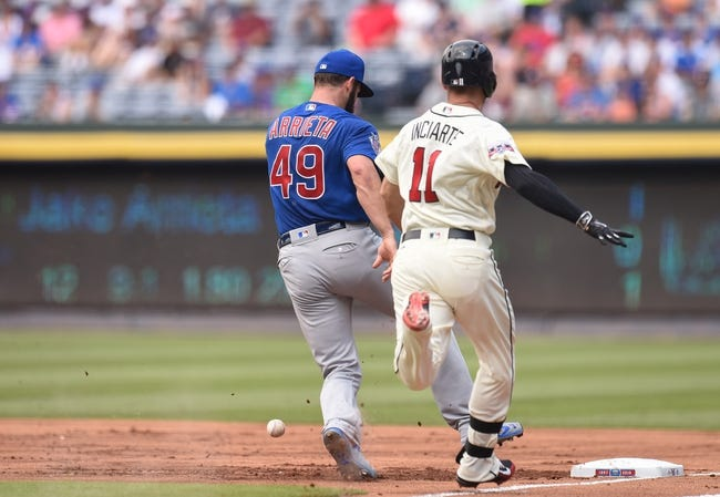 Atlanta Braves vs. Chicago Cubs - 6/12/16 MLB Pick, Odds, and Prediction