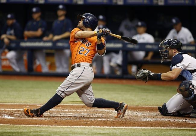 Tampa Bay Rays vs. Houston Astros - 6/12/16 MLB Pick, Odds, and Prediction