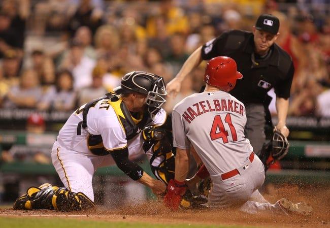Pirates vs. Cardinals - 6/12/16 MLB Pick, Odds, and Prediction