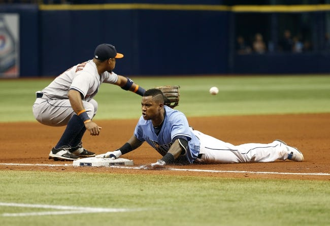 Houston Astros vs. Tampa Bay Rays - 8/28/16 MLB Pick, Odds, and Prediction
