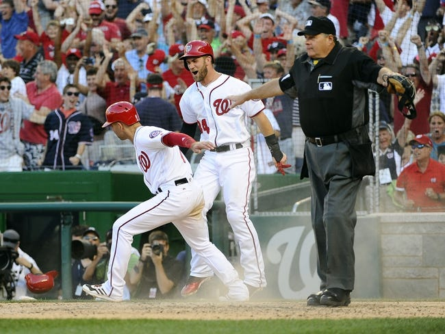 Philadelphia Phillies vs. Washington Nationals - 8/30/16 MLB Pick, Odds, and Prediction