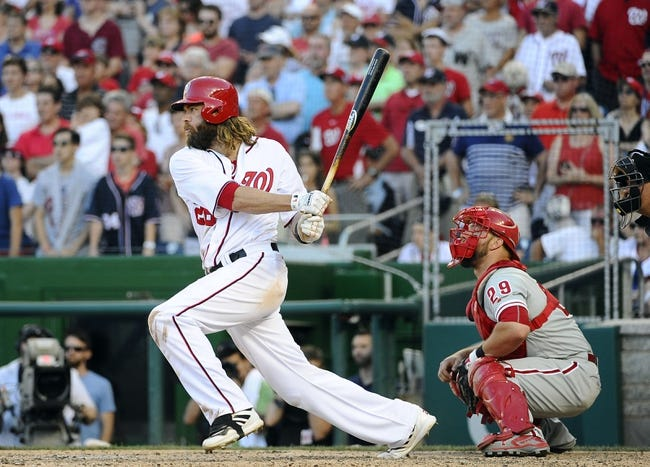 Philadelphia Phillies vs. Washington Nationals - 8/29/16 MLB Pick, Odds, and Prediction