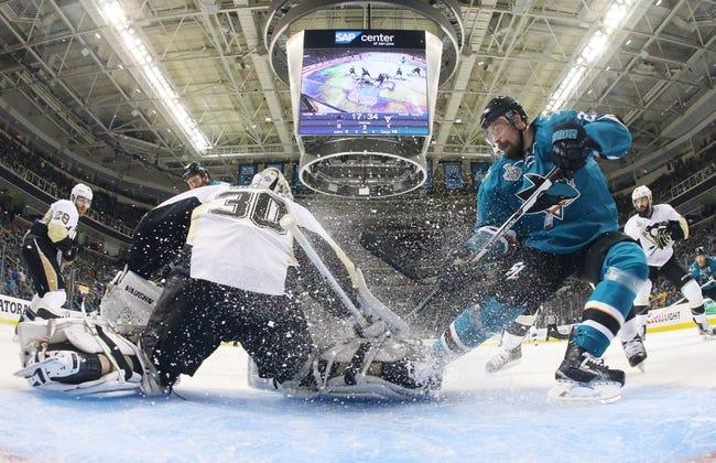 Pittsburgh Penguins vs. San Jose Sharks - 10/20/16 NHL Pick, Odds, and Prediction
