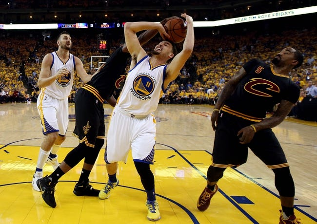 Cleveland Cavaliers vs. Golden State Warriors - 6/16/16 NBA Pick, Odds, and Prediction