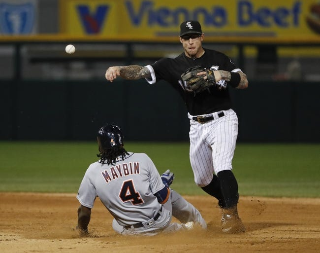 Chicago White Sox vs. Detroit Tigers - 6/15/16 MLB Pick, Odds, and Prediction
