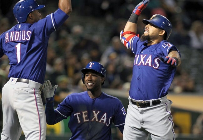 Athletics vs. Rangers - 6/16/16 MLB Pick, Odds, and Prediction