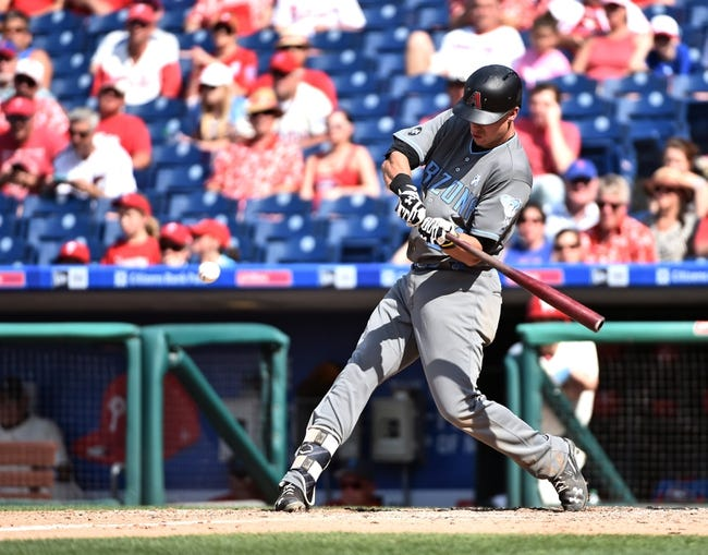 Arizona Diamondbacks vs. Philadelphia Phillies - 6/27/16 MLB Pick, Odds, and Prediction