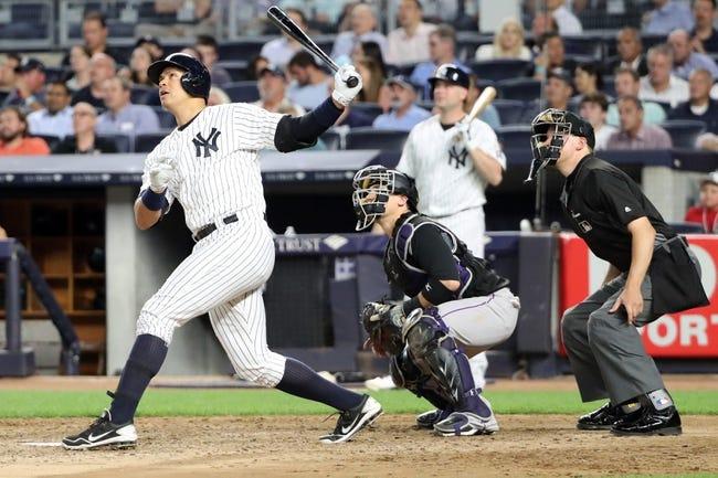 New York Yankees vs. Colorado Rockies - 6/22/16 MLB Pick, Odds, and Prediction