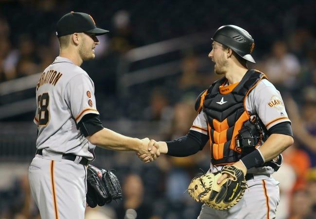 Pittsburgh Pirates vs. San Francisco Giants - 6/23/16 MLB Pick, Odds, and Prediction