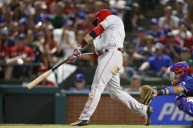 Cincinnati Reds vs. Texas Rangers - 8/24/16 MLB Pick, Odds, and Prediction