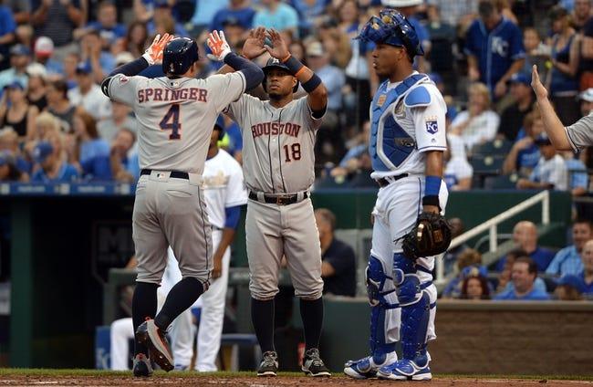 Royals vs. Astros - 6/25/16 MLB Pick, Odds, and Prediction