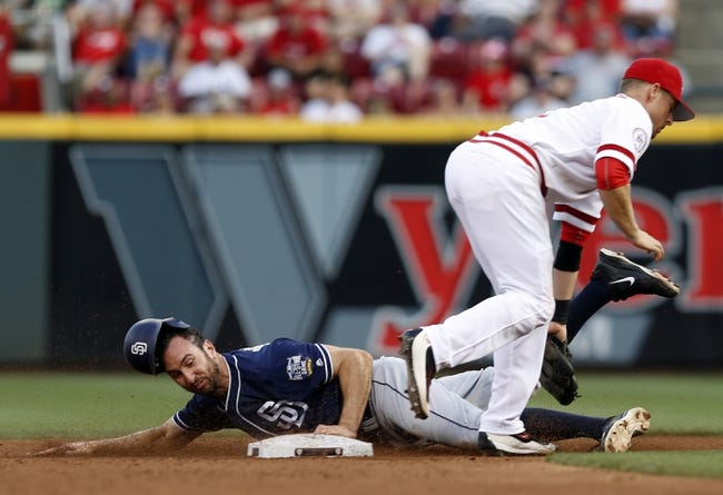 Cincinnati Reds vs. San Diego Padres - 6/25/16 MLB Pick, Odds, and Prediction