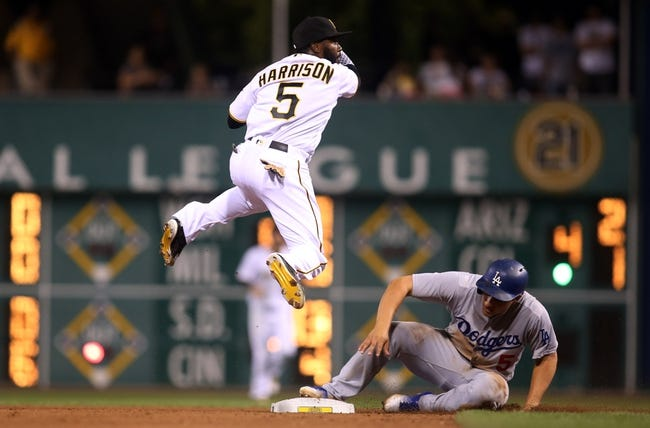 Dodgers at Pirates - 6/26/16 MLB Pick, Odds, and Prediction