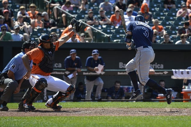 Baltimore Orioles vs. Tampa Bay Rays - 6/26/16 MLB Pick, Odds, and Prediction