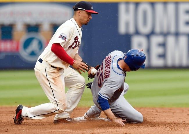Atlanta Braves vs. New York Mets - 9/9/16 MLB Pick, Odds, and Prediction