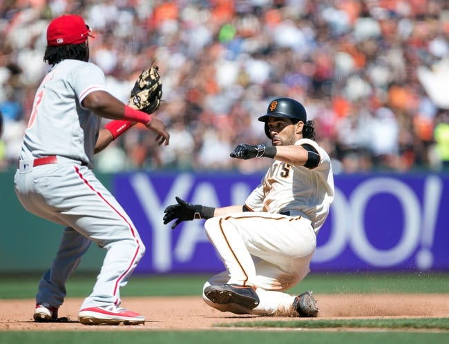 Giants at Phillies - 8/2/16 MLB Pick, Odds, and Prediction