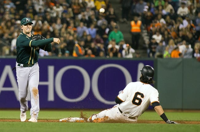 Giants vs. Athletics - 6/28/16 MLB Pick, Odds, and Prediction