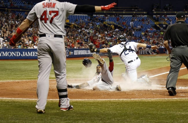 Tampa Bay Rays vs. Boston Red Sox - 6/29/16 MLB Pick, Odds, and Prediction