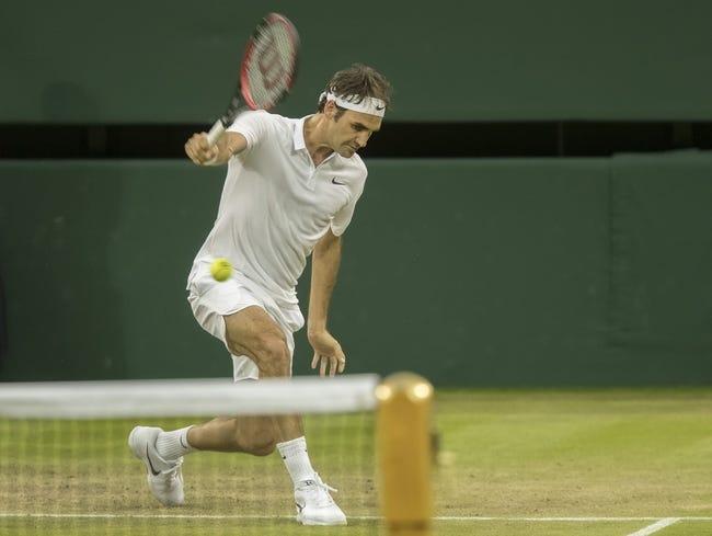 Milos Raonic vs. Roger Federer 2016 Wimbledon Semifinals Pick, Odds, Prediction