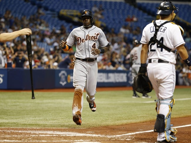 Tampa Bay Rays vs. Detroit Tigers - 7/2/16 MLB Pick, Odds, and Prediction