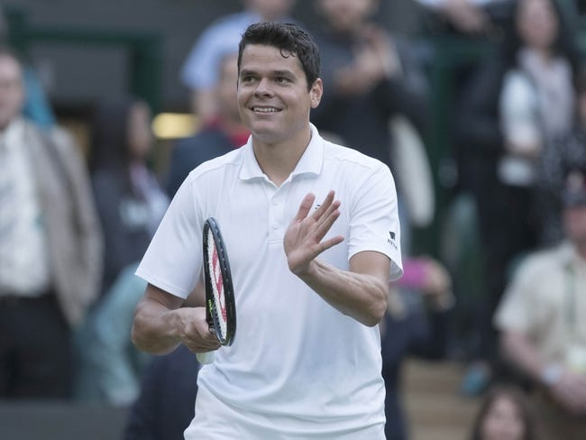 Milos Raonic vs. Sam Querrey 2016 Wimbledon Quarterfinals Pick, Odds, Prediction