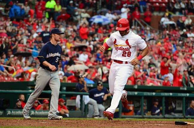 Cardinals at Brewers - 7/8/16 MLB Pick, Odds, and Prediction