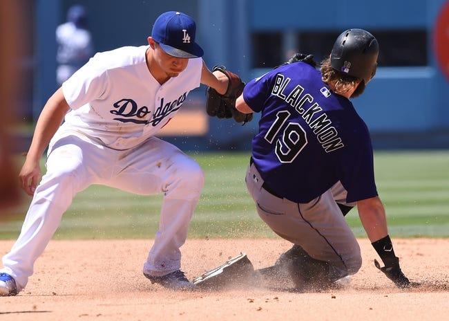Dodgers at Rockies - 8/2/16 MLB Pick, Odds, and Prediction
