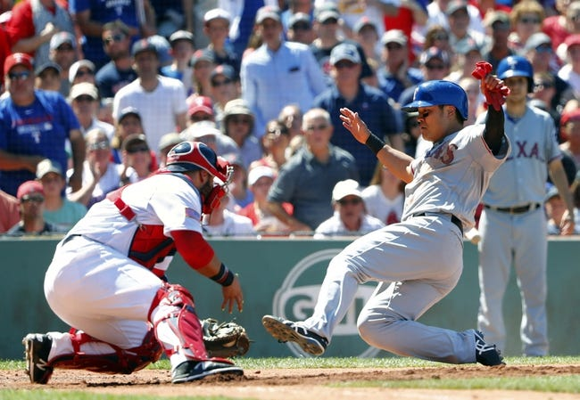 Boston Red Sox vs. Texas Rangers - 7/5/16 MLB Pick, Odds, and Prediction