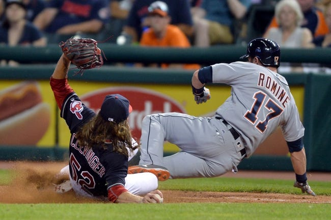 Cleveland Indians vs. Detroit Tigers - 9/16/16 MLB Pick, Odds, and Prediction
