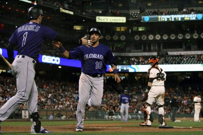 Rockies vs. Giants - 9/5/16 MLB Pick, Odds, and Prediction
